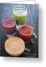Assorted Smoothies Greeting Card