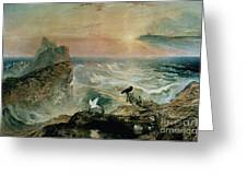 Assuaging Of The Waters Greeting Card