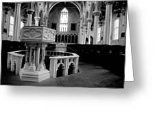 Assumption Baptism Greeting Card