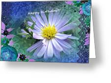 Aster ,  Greeting Card Greeting Card