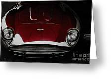 Aston Martin Db-4 Sans Paint Greeting Card