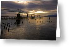 Astoria-megler Bridge 2 Greeting Card