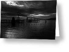 Astoria-megler Bridge 4 Greeting Card