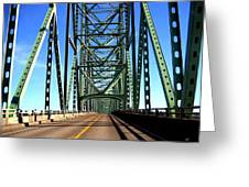 Astoria-megler Bridge Greeting Card