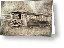 Astoria Trolley Greeting Card