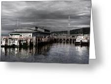 Astoria Waterfront 2 Greeting Card