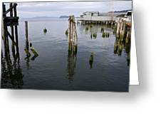 Astoria Waterfront Greeting Card