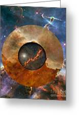 Astral Abstraction I Greeting Card