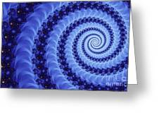 Astral Vortex Greeting Card