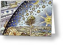 Astrology, 16th Century Greeting Card