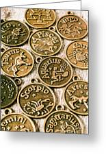 Astrology Charms Greeting Card