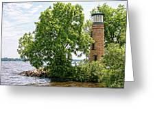 Asylum Point Lighthouse 1 Greeting Card