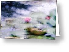 At Claude Monet's Water Garden 12 Greeting Card