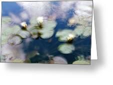 At Claude Monet's Water Garden 4 Greeting Card
