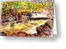 At Forest Park Greeting Card