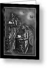 At Heavens Doors Greeting Card