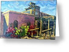 At Old Tucson Greeting Card