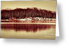 At Quiet Waters Greeting Card