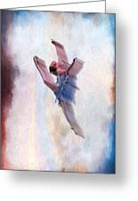 At The Ballet Greeting Card