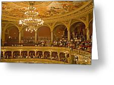 At The Budapest Opera Greeting Card
