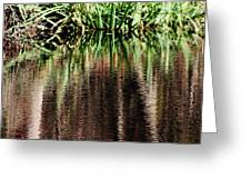 At The Edge Of The Pond Greeting Card