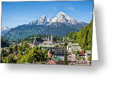 At The Foot Of The Watzmann Greeting Card