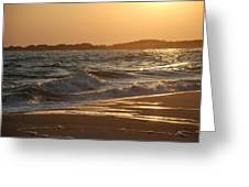 At The Golden Hour Greeting Card