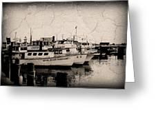 At The Marina - Jersey Shore Greeting Card