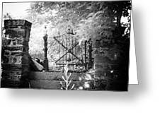 At The Old Gate Greeting Card