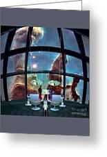 At The Pillars Of Creation Greeting Card