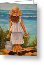 At The Seashore Greeting Card