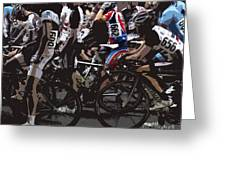 At The Starting Gate Greeting Card by Steven Digman
