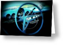 At The Wheel Greeting Card