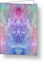 Atahensic-sky Goddess Greeting Card