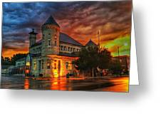 Atchison Post Office  Greeting Card