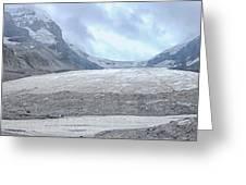 Athabasca Glacier, Jasper National Park Greeting Card