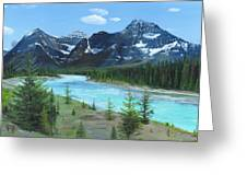 Athabasca River Greeting Card