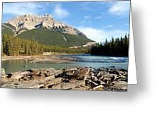 Athabasca River Greeting Card