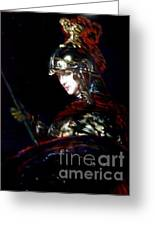 Athena After Rembrandt Greeting Card