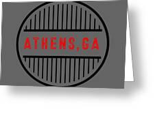 Athens, Ga Greeting Card