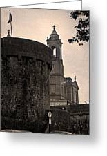 Athlone Castle And Church Greeting Card