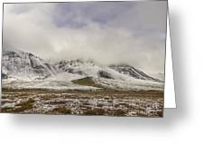 Atigun Pass Brooks Range Alaska Greeting Card