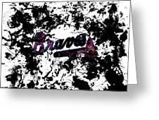 Atlanta Braves 1b Greeting Card