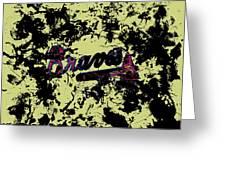 Atlanta Braves 1c Greeting Card