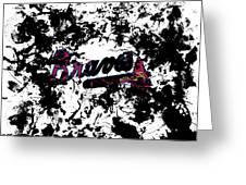 Atlanta Braves 1d Greeting Card