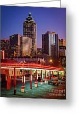 Atlanta Drive-in Greeting Card