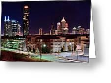 Atlanta From Above Greeting Card