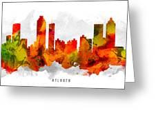Atlanta Georgia Cityscape 15 Greeting Card