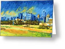Atlanta Georgia Skyline 15 Greeting Card