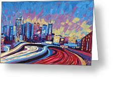 Atlanta Georgia Skyline 17 Greeting Card